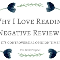 Why I Love Reading Negative Reviews // it's controversial opinion time!