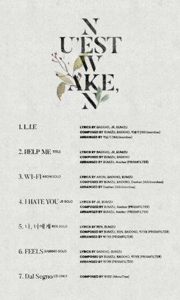 NU'EST_W_Wake,n_digital_album_tracklist